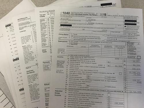 "Photo ""Tax Returns"" by Amy Wu"