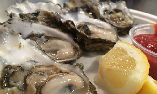 "From farm-to-table to environmental issues, there are plenty of oyster tales to be told. (""Oysters"" image by Jeremy Keith via flickr CC BY 2.0)"