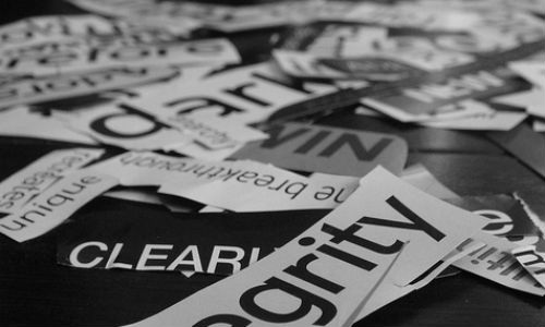 "Six tricks for cutting copy down to size. (""seventy; words"" image by RCabanilla via flickr)"