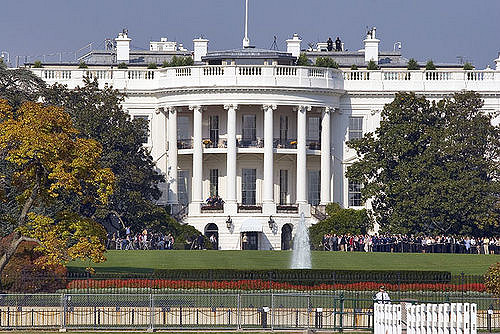 """The new administration provides plenty of rich angles for business stories. (""""White House"""" by DC John via flickr, CC BY 2.0)"""