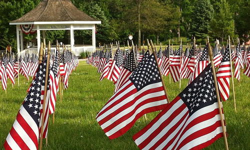 Memorial Day is a great opportunity to highlight several topics as a business reporter. (Photo via Pixabay.org)