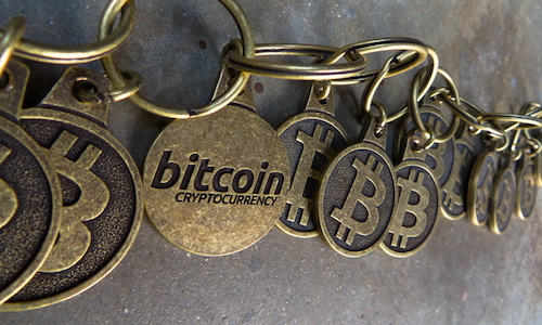 "Business journalists need to understand blockchain's enormous potential and considerable risk. (Image by ""BTC Keychain"" via Flickr)"