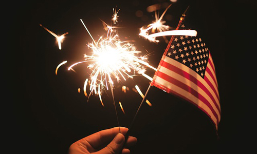 When you're finished with the hot dogs, fireworks and apple pie, why not bring some red, white and blue to your business coverage? (Photo via Pixabay.com