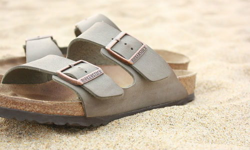 "Birkenstock's CEO has slammed Amazon's new third-party selling program. (""Beach"" image by ""nateen98650"" via Pixabay, Creative Commons)"