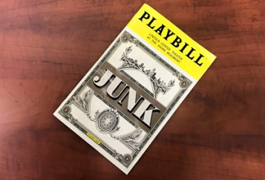 """Reynolds Review: Ayad Akhtar's """"Junk"""""""