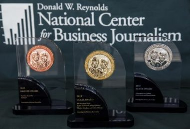Bloomberg News, The Wall Street Journal and ProPublica win 2018 Barlett & Steele Awards